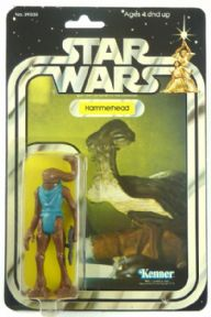 Star Wars Hammerhead 20 Back Kenner